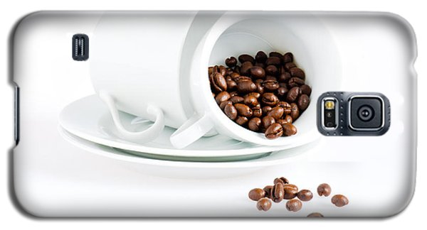 Coffee Cups And Coffee Beans  Galaxy S5 Case