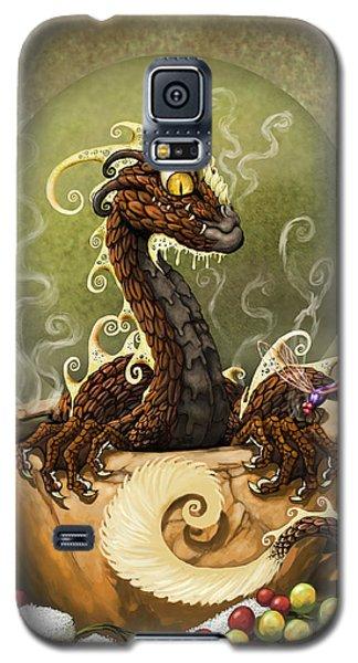 Coffee Dragon Galaxy S5 Case by Stanley Morrison