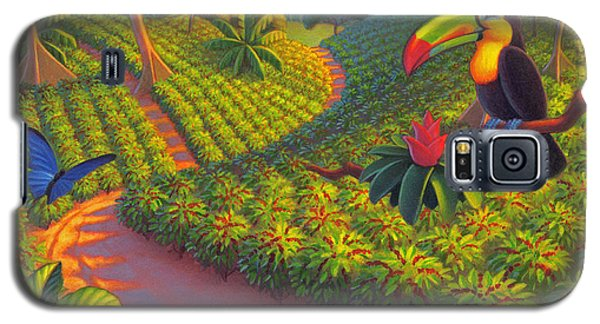 Parrot Galaxy S5 Case - Coffee Plantation by Robin Moline