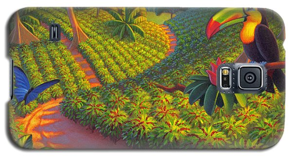 Coffee Plantation Galaxy S5 Case