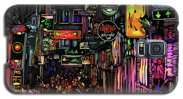 Coffee Shop, Amsterdam Galaxy S5 Case by DC Langer