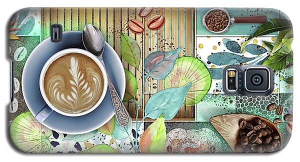 Coffee Shop Collage Galaxy S5 Case