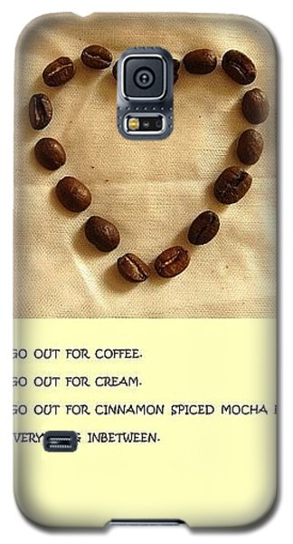 Coffee Shop Hopping Galaxy S5 Case