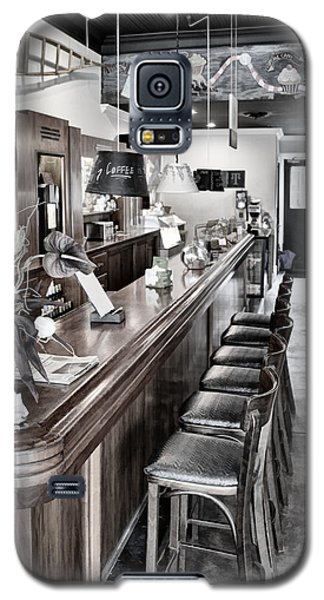 Coffee Shop Galaxy S5 Case by Greg Jackson