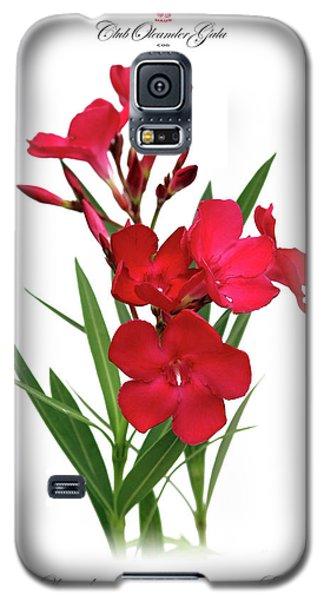 Cog  Nerium Oleander Emile Sahut Galaxy S5 Case