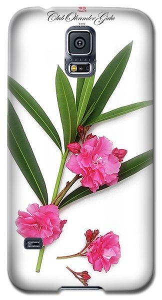 Cog  Nerium Oleander Splendens Giganteum Galaxy S5 Case