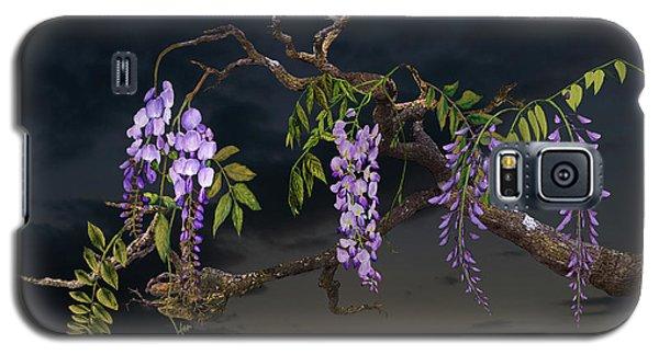 Cogan's Wisteria Tree Galaxy S5 Case
