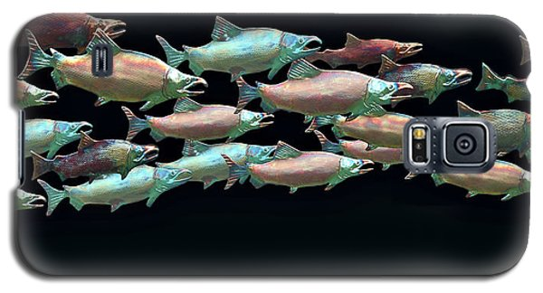 Coho Migration Galaxy S5 Case by Jeff Burgess