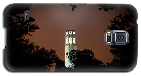 Coit Tower Through The Trees Galaxy S5 Case