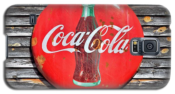 Coke Galaxy S5 Case by Marion Johnson
