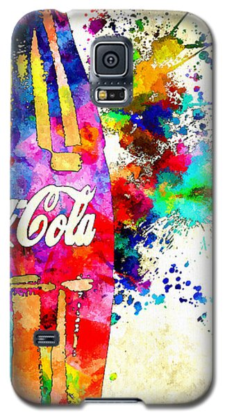 Cola Grunge Galaxy S5 Case by Daniel Janda