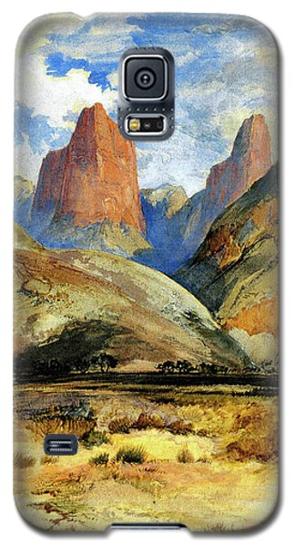 Colburns Butte South Utah Galaxy S5 Case by Thomas Moran