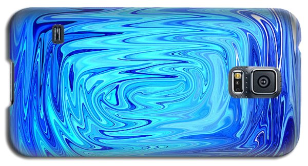 Galaxy S5 Case featuring the digital art Cold 2 by Mary Bedy