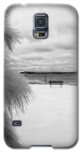 Cold Park Bench Galaxy S5 Case