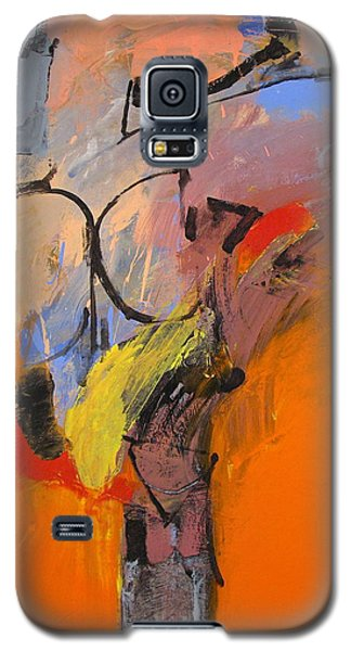 Galaxy S5 Case featuring the painting Cold Shoulder  by Cliff Spohn