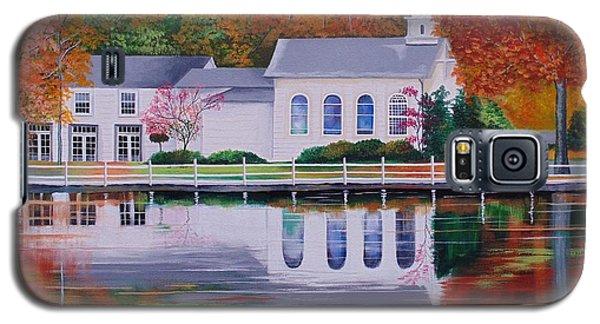 Cold Spring Harbor St Johns Church Galaxy S5 Case by Nereida Rodriguez