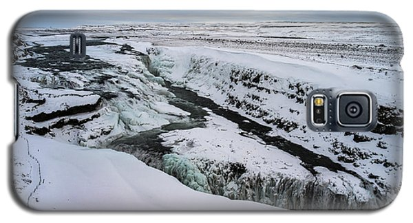 Cold Winter Day At Gullfoss, Iceland Galaxy S5 Case