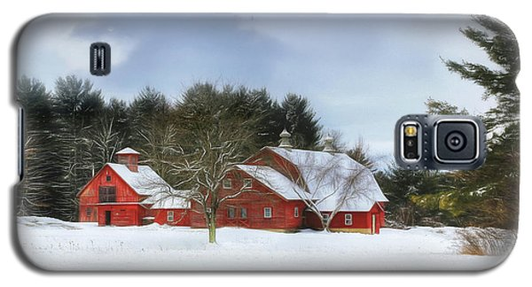 Cold Winter Days In Vermont Galaxy S5 Case
