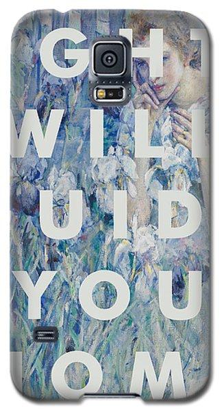 Coldplay Lyrics Print Galaxy S5 Case