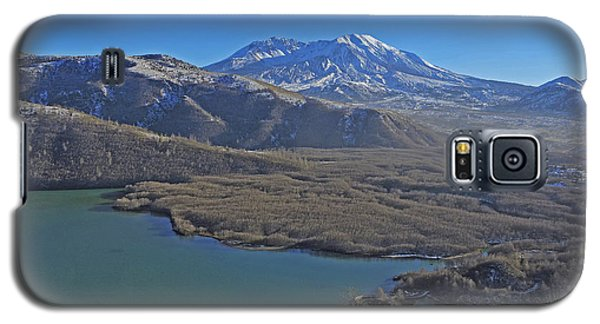 Galaxy S5 Case featuring the photograph Coldwater Lake by Jack Moskovita