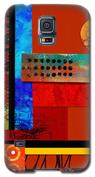 Collage Abstract 2 Galaxy S5 Case