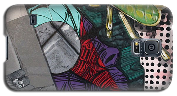 Galaxy S5 Case featuring the painting Collage by Jude Labuszewski