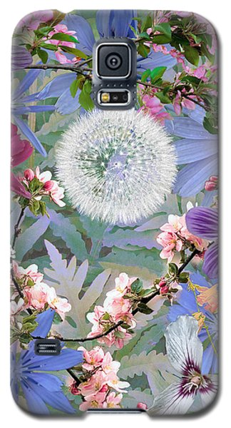 Galaxy S5 Case featuring the digital art Collage One by John Selmer Sr