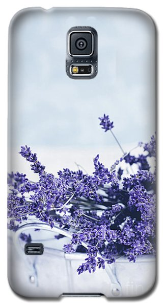 Galaxy S5 Case featuring the photograph Collection Of Lavender  by Stephanie Frey