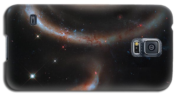 Colliding Galaxies Galaxy S5 Case