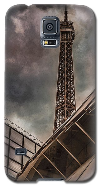 Paris, France - Colliding Grids Galaxy S5 Case