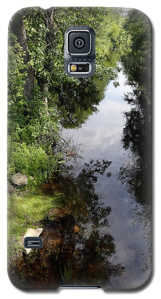 Collins Creek June 15 2015 Galaxy S5 Case by Jim Vance