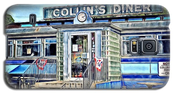 Collin's Diner New Canaan,conn Galaxy S5 Case