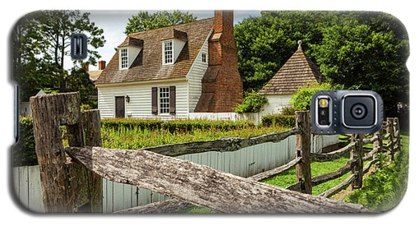 Colonial America House Galaxy S5 Case