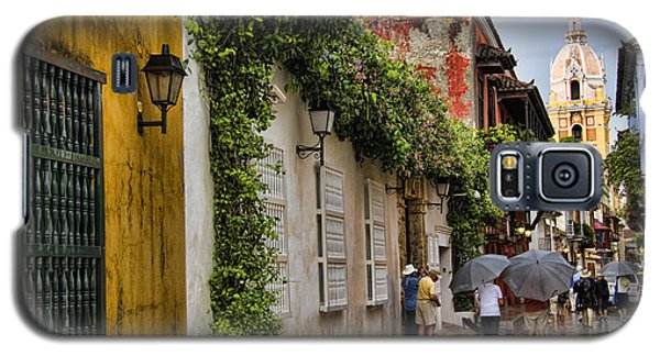 Colonial Buildings In Old Cartagena Colombia Galaxy S5 Case