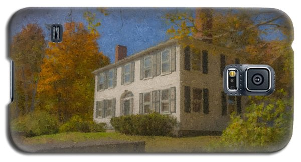 Colonial House On Main Street, Easton Galaxy S5 Case