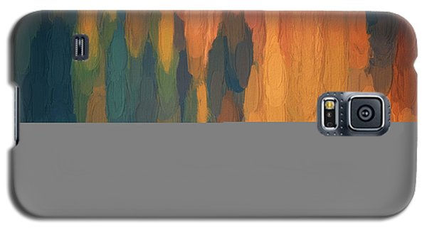 Color Abstraction L Sq Galaxy S5 Case by David Gordon