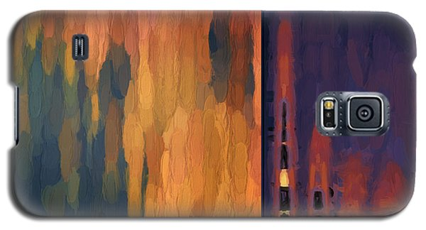 Color Abstraction Liv Galaxy S5 Case