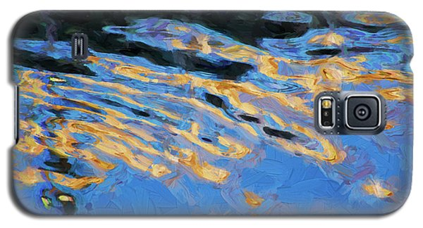 Color Abstraction Lxiv Galaxy S5 Case by David Gordon