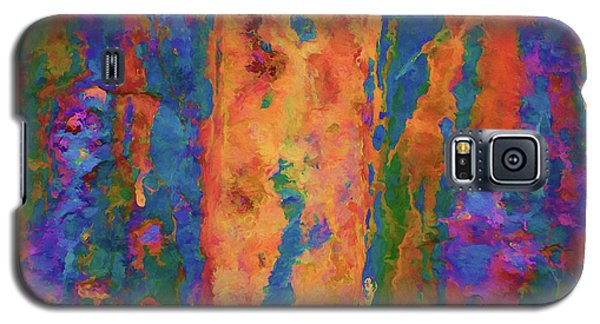Color Abstraction Lxvi Galaxy S5 Case