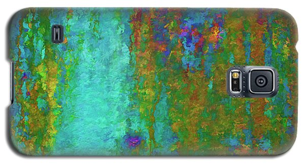 Color Abstraction Lxvii Galaxy S5 Case by David Gordon