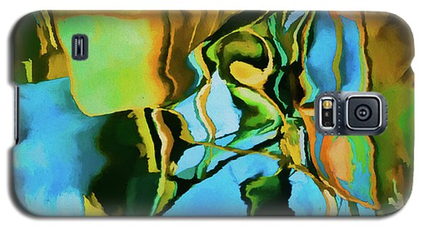 Color Abstraction Lxxiii Galaxy S5 Case by David Gordon
