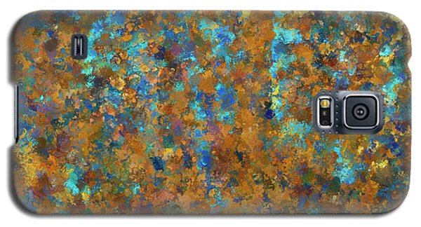 Color Abstraction Lxxiv Galaxy S5 Case by David Gordon