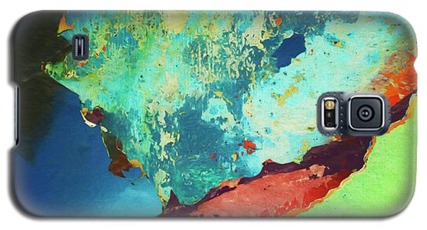 Galaxy S5 Case featuring the photograph Color Abstraction Lxxvi by David Gordon