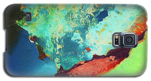Color Abstraction Lxxvi Galaxy S5 Case by David Gordon