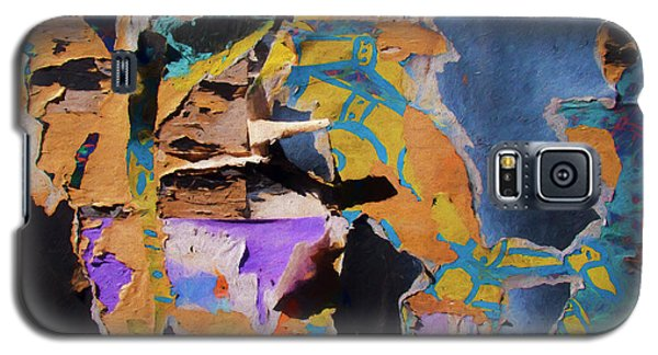 Galaxy S5 Case featuring the photograph Color Abstraction Lxxvii by David Gordon