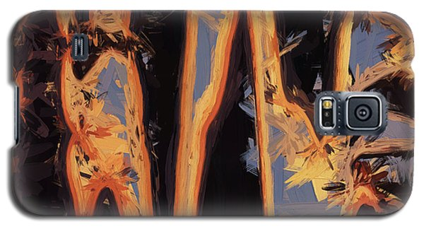 Galaxy S5 Case featuring the digital art Color Abstraction Xli by David Gordon