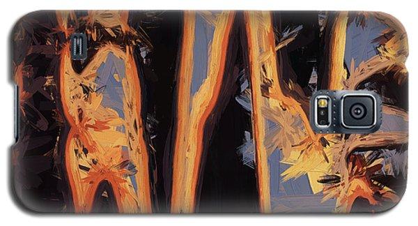 Color Abstraction Xli Galaxy S5 Case by David Gordon