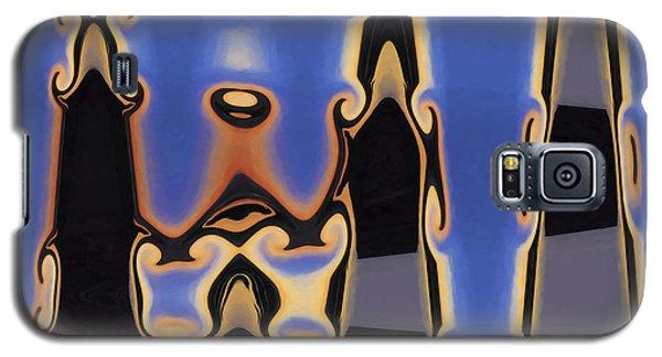 Color Abstraction Xliii Galaxy S5 Case by David Gordon
