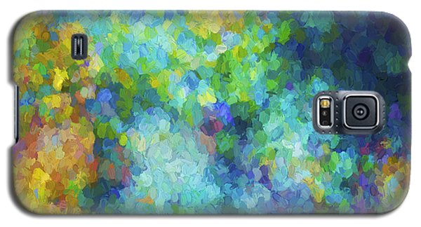 Galaxy S5 Case featuring the digital art Color Abstraction Xliv by David Gordon
