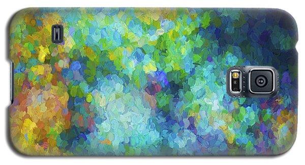 Color Abstraction Xliv Galaxy S5 Case by David Gordon